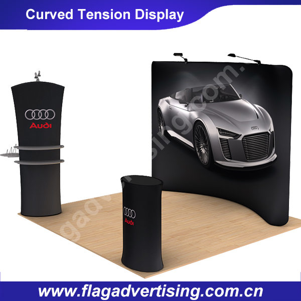 Waveline Curved Tension Display